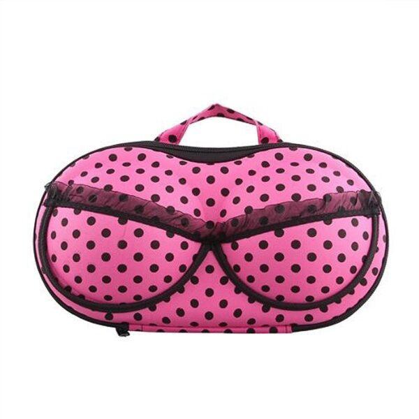 Bikini Bag Pink Dots