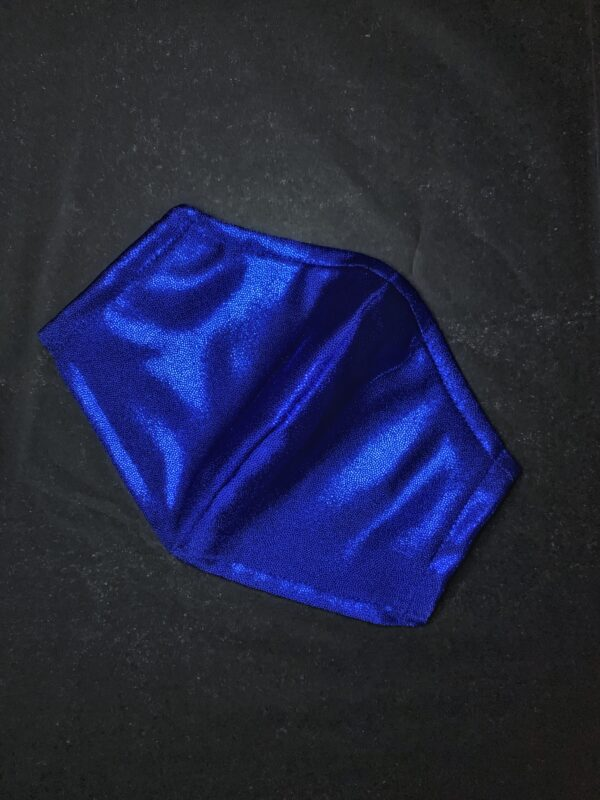 facemask royal blå mundbind