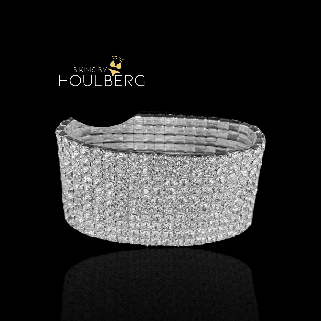 crystal bracelet 10row