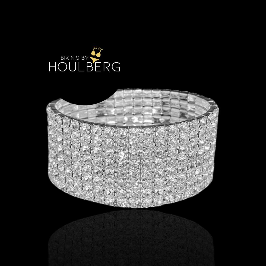 Crystal bracelet 8-row