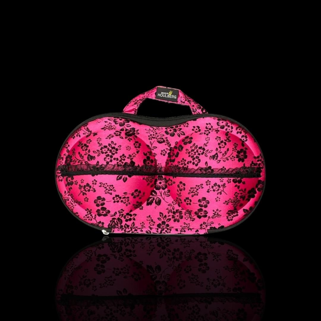 bikini taske pink flowers